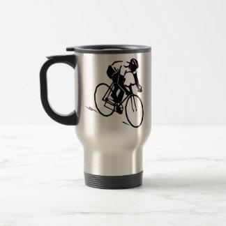 Ciclismo bicicleta motero taza de viaje