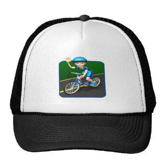 Ciclista 3 de la mujer gorro