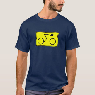 Ciclista (amarillo) camiseta