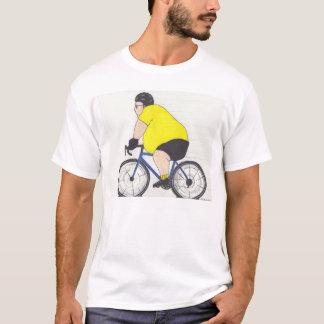 Ciclista gordo camiseta