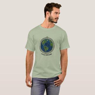 Ciclo alrededor de la camiseta