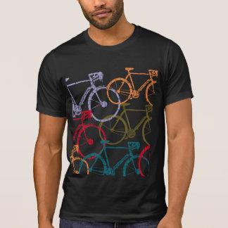 ciclo de la bici/de la bicicleta colorido camiseta