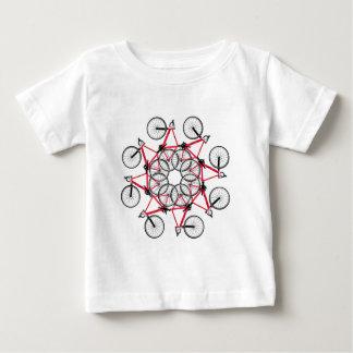 Ciclo de la bicicleta camiseta de bebé