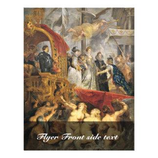 Ciclo de las pinturas para Maria De 'Medici, reina Folleto 21,6 X 28 Cm