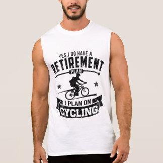 Ciclo del plan de retiro camiseta sin mangas