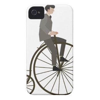 Ciclo del vintage funda para iPhone 4