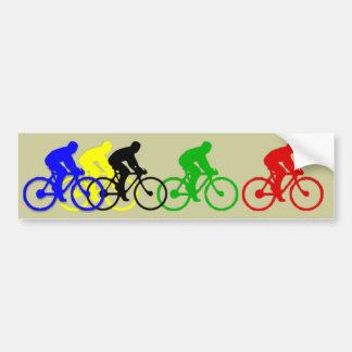 Ciclo Pegatina Para Coche