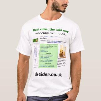ciderwiki camiseta