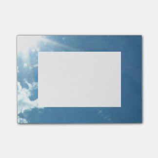 Cielo 5992 - Sun y nubes Notas Post-it®
