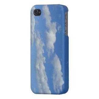 Cielo azul iPhone 4 funda
