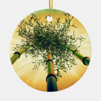 Cielo de bambú ornamento para reyes magos