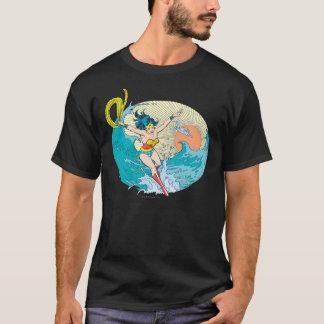 Cielo del océano de la Mujer Maravilla Camiseta