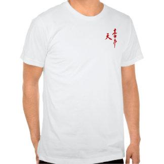 Cielo en Sumi-E - sangre Camisetas
