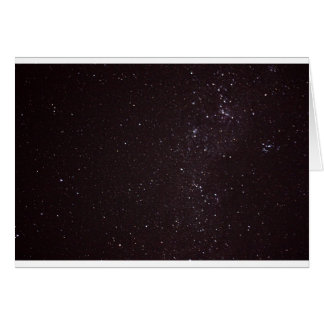 cielo estrellado tarjeta de felicitación