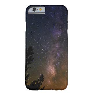 Cielo nocturno de la vía láctea, California Funda Barely There iPhone 6