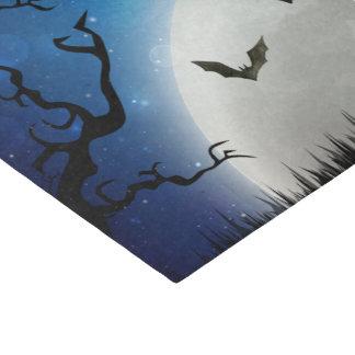 Cielo nocturno fantasmagórico de Halloween Papel De Seda