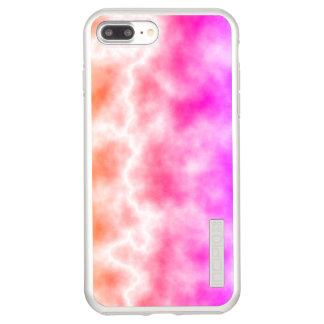 Cielo rosado de la tempestad de truenos funda DualPro shine de incipio para iPhone 8 plus/