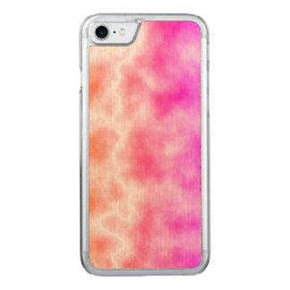 Cielo rosado de la tempestad de truenos funda para iPhone 8/7 de carved