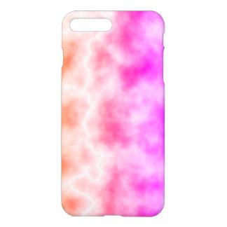 Cielo rosado de la tempestad de truenos funda para iPhone 8 plus/7 plus