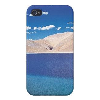 Cielos azules de las aguas azules iPhone 4/4S carcasas