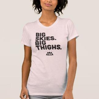 Cielos grandes de PMR, camiseta grande de los