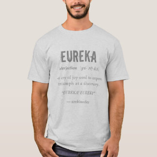 Ciencia del principio de Arquímedes de la Camiseta