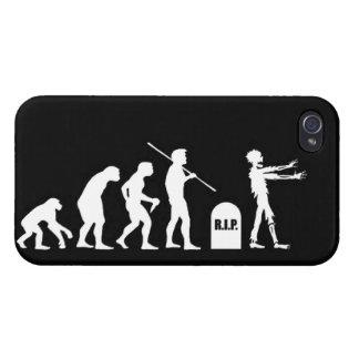 Ciencia divertida de la carta evolutiva de la evol iPhone 4 fundas