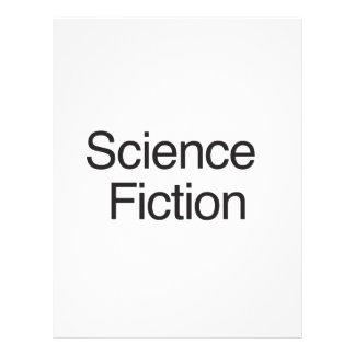 Ciencia ficción flyer a todo color