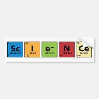 Ciencia Pegatina Para Coche
