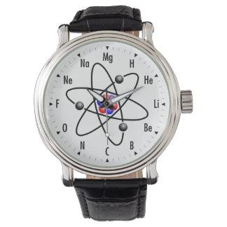 Ciencia/química atómicas relojes de mano