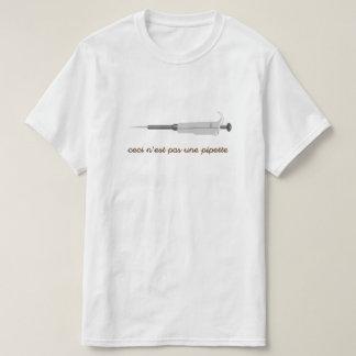 Camiseta Ciencia surrealista - pipeta - la camiseta de los