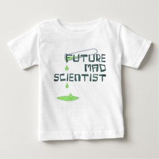 Científico enojado futuro camiseta de bebé