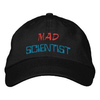 Científico enojado gorras de beisbol bordadas