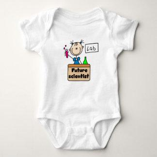 Científico futuro body para bebé