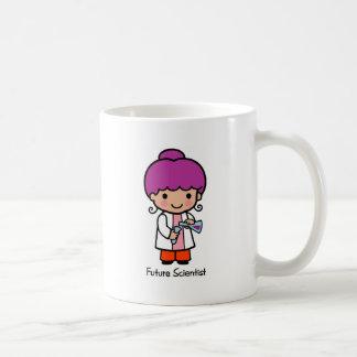 Científico futuro - chica taza básica blanca