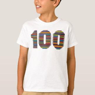 Cientos lápices camiseta