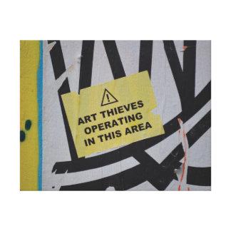 Cierre de moda abstracto de la pintada encima del impresión en lienzo