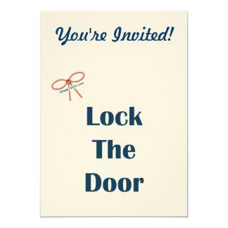 Cierre los recordatorios de la puerta comunicado personal