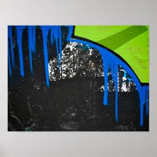 Cierre moderno abstracto del arte de la pintada