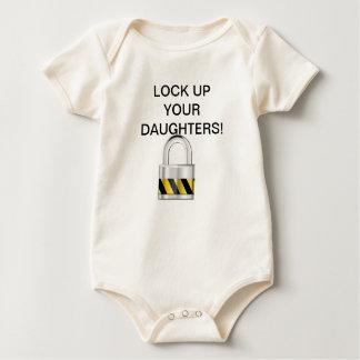 ¡Cierre para arriba a sus hijas! Body Para Bebé