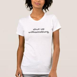 cierre williamsburg - la camiseta de las mujeres
