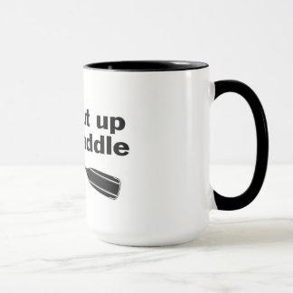 Cierre y bata la taza