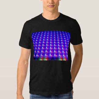 Ciérrese para arriba de luces LED Camiseta
