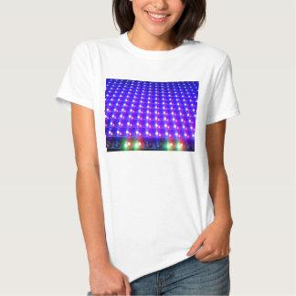 Ciérrese para arriba de luces LED Camisetas