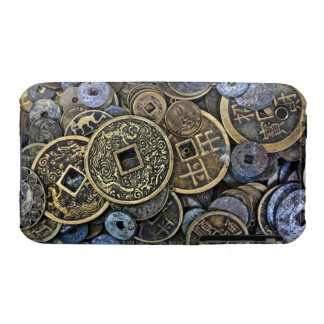 Ciérrese para arriba de monedas vietnamitas funda bareyly there para iPhone 3 de Case-Mate