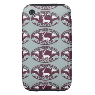 Ciervo blanco Hotle Lincoln Funda Resistente Para iPhone 3