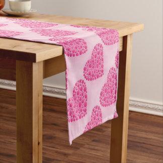 Ciervo rosado de la burbuja camino de mesa corto