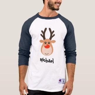 Ciervos con la camiseta de los hombres conocidos