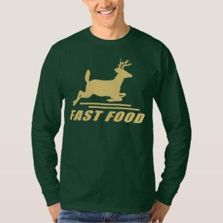 Ciervos de los alimentos de preparación rápida camiseta