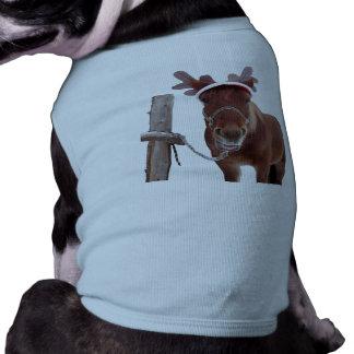 Ciervos del caballo - caballo del navidad -